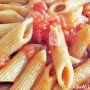 Penne integrali all'amatriciana